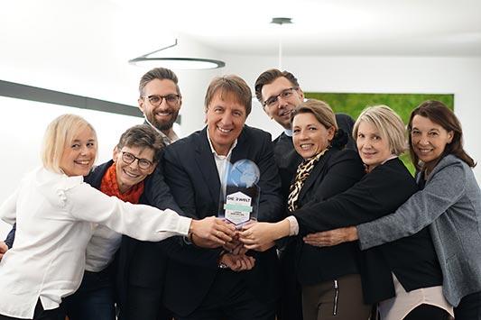 Team von Lange Immobilien mit Auszeichnung